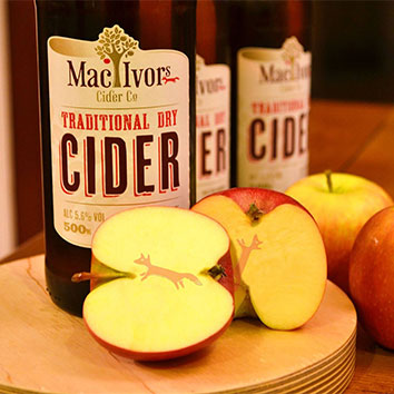 The Good Food Market will be taking place at The Argory - Mac Ivors Cider Co will be there selling ciders