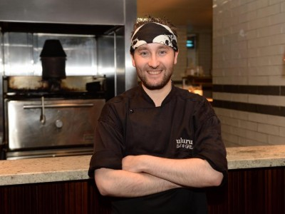 Uluru Bar & Grill Head Chef Mark McGonigle creates special dish using Mac Ivors Cider Co cider