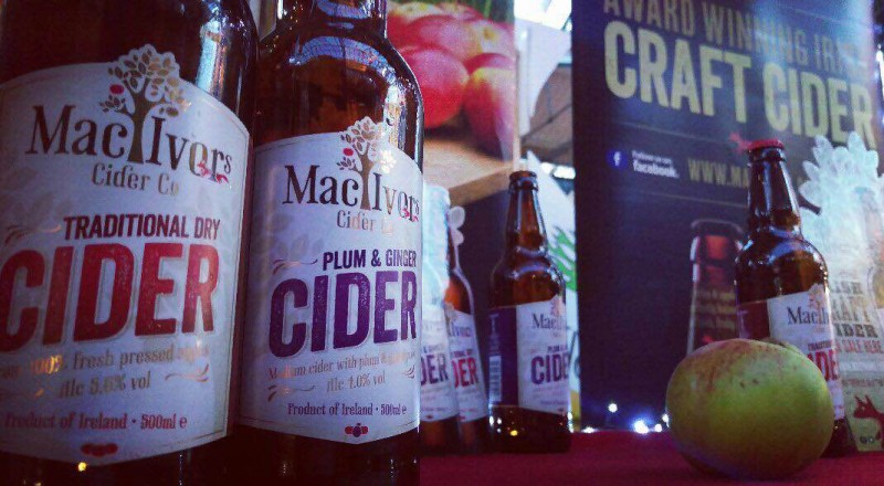 Belfast Twilight Market is on and Mac Ivors Cider Co is there selling great tasting ciders.