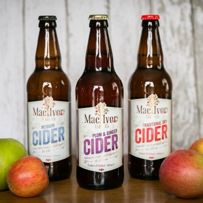 Irish craft cider producer, Mac Ivors Cider Co, has invested £250,000 in a state of the art German cider press as the Irish Craft Market continues to boom.