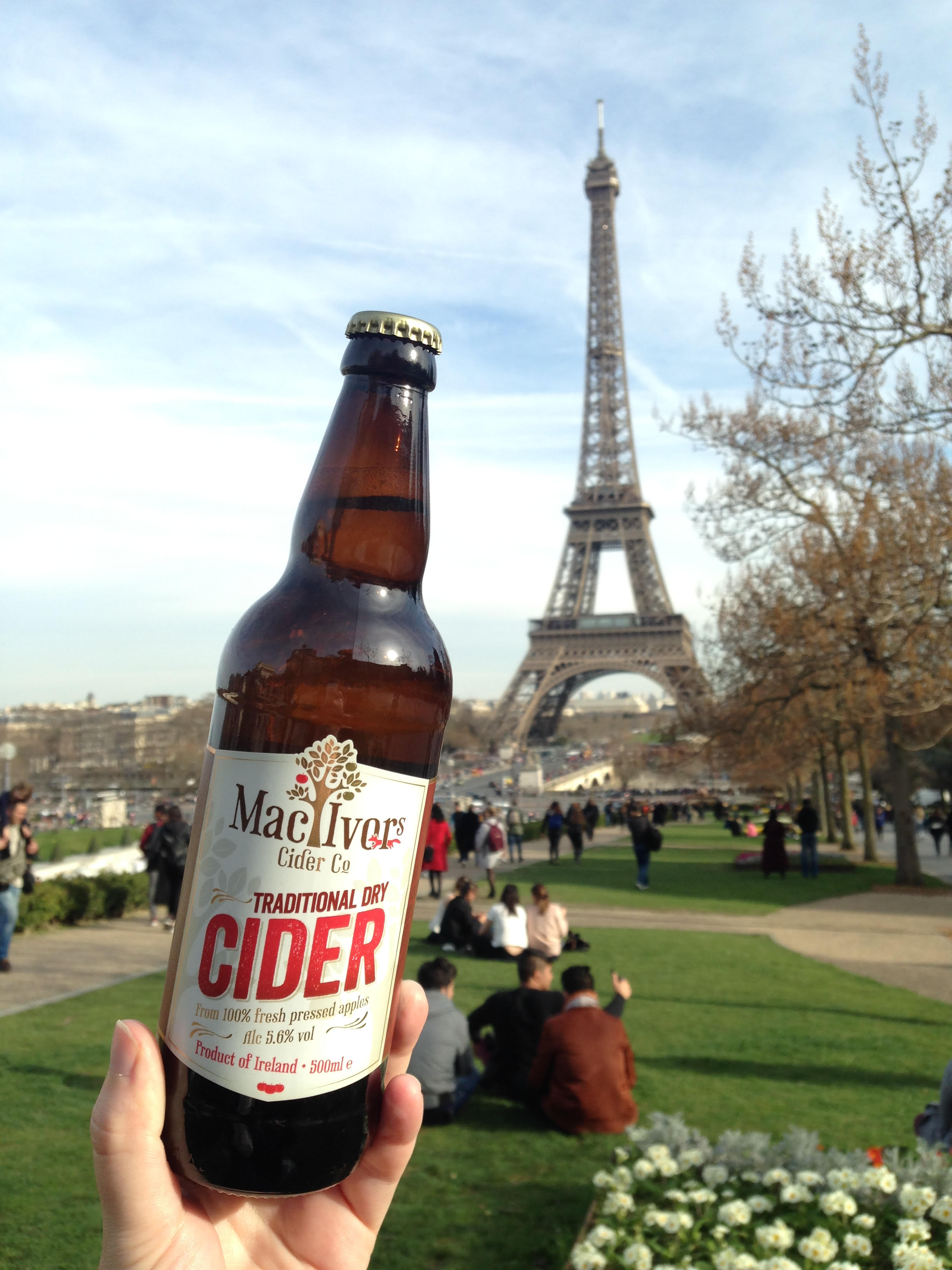 Mac Ivors Cider Co's Traditional Dry is being launch in Paris on St Patrick's Day 2017. IMG04