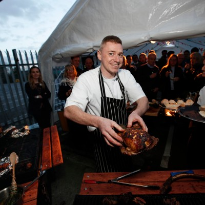Slow cooking at Musgrave Food Stories event - Musgrave Picture Conor McCabe Photography