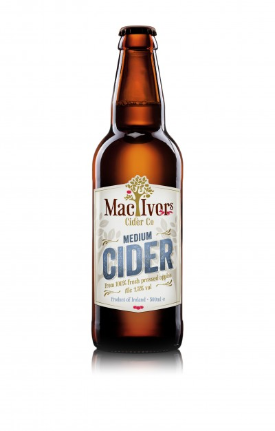 A big thank you - Mac Ivors Medium Cider - Airport Competition Image