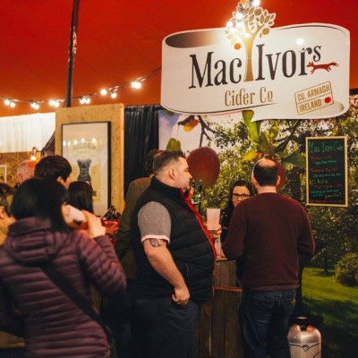 Mac Ivors Cider Co at the Belfast Craft Beer Festival 2016