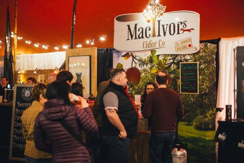 Mac Ivors Cider Co at the Belfast Craft Beer Festival 2016
