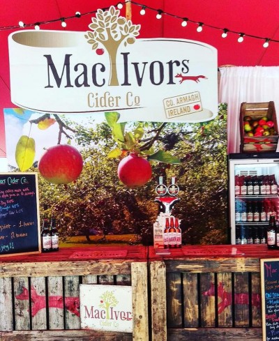 Mac Ivors Cider stand - Picnic at the abbey