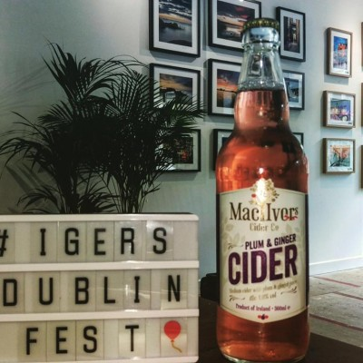 Mac Ivors Cider Co sponsored #IgersDublinFest exhibition