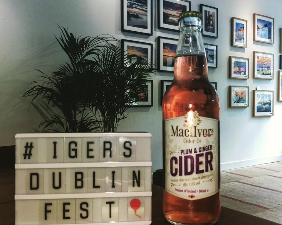 Mac Ivors Cider Co sponsored #IgersDublinFest exhibition
