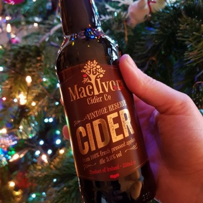 Mac Ivors Vintage Reserve Cider is the only cider in madvent