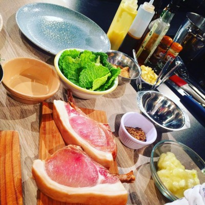 Aussie Chef Dean Coppard cooks with Mac Ivors Cider Co on the Six O'Clock Show