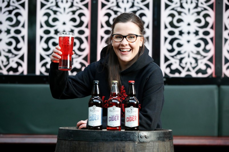 Sarah McNally from Mac Ivors Cider Co ahead of one of Ireland's finest craft gatherings - Picture Conor McCabe Photography.